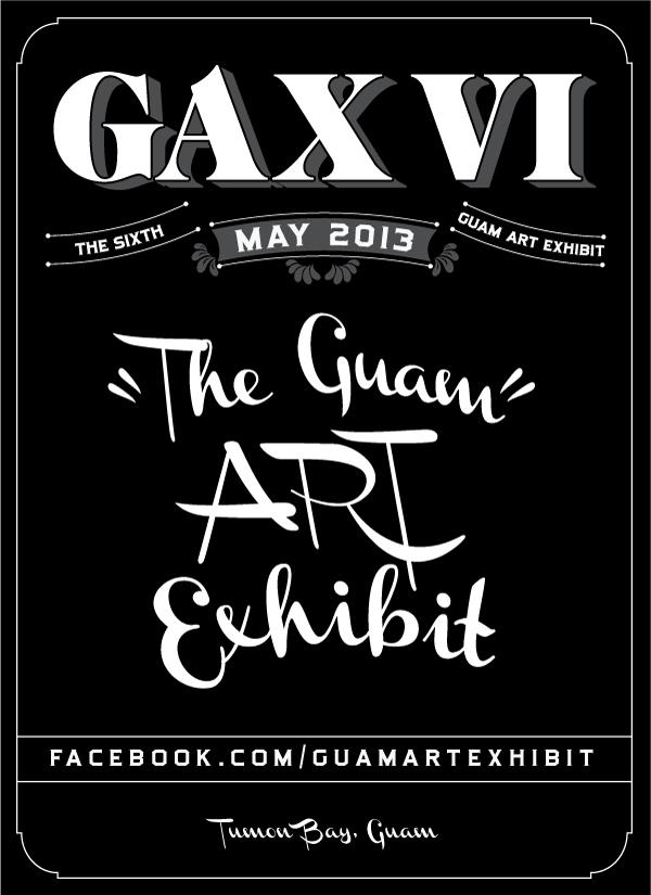 GAX VI Guam Art Exhibit 2013