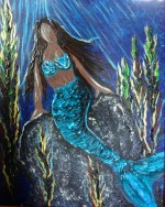 Creation Spotlight: Si Sirena Mermaid Custom Painting