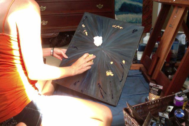 painting start