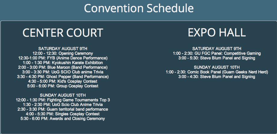 Recon 2014 Schedule