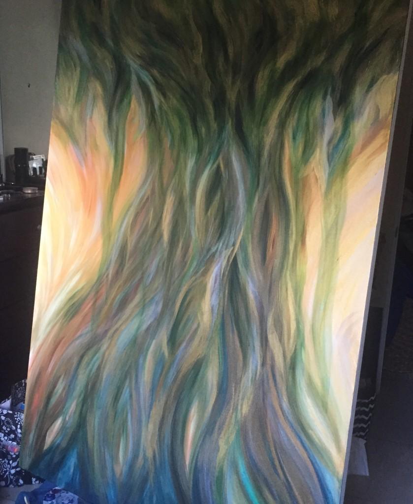 Tree of Wisdom Painting