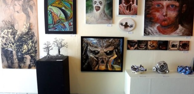 2015 Student Exhibit at the University of Guam's Isla Center for the Arts