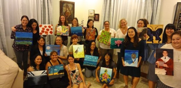 Ladies Night Birthday Painting Party & Creative Session