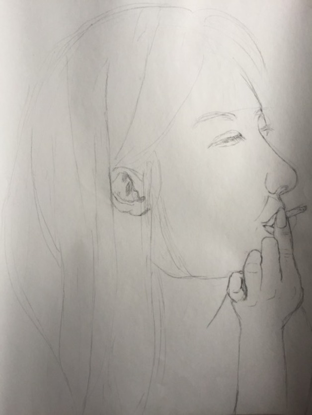 Smoking Sketch