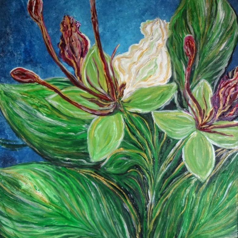 Ifit Flower Painting