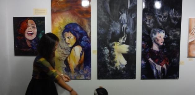 Amazing opening night of GAX (Guam Art Exhibit): The Portrait