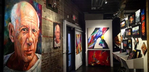 An Amazing Adventure at Jonas Gerard's Art Studio & Gallery