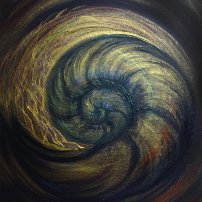 Earthy Nautilus Spiral