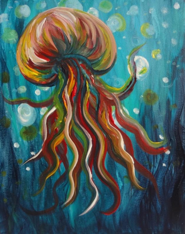 Colorful Jellyfish