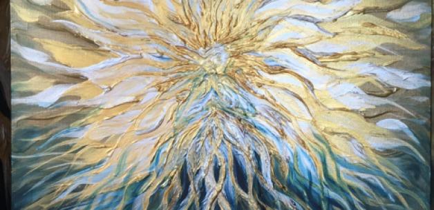 A Pair of Unique Divine Mother Painting Commissions