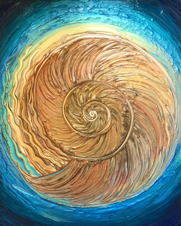 Golden Nautilus- SOLD