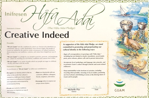 Hafa Adai Pledge