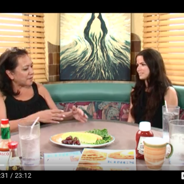 TV Interview: Something to Talk About, with Patti Arroyo