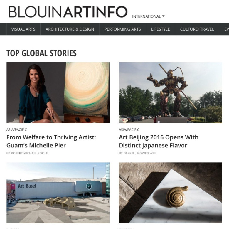 Blouin ArtInfo Feature