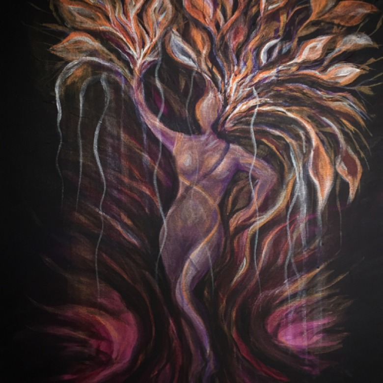 Purple Tree Goddess