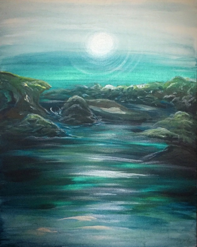 Peaceful Pools- SOLD