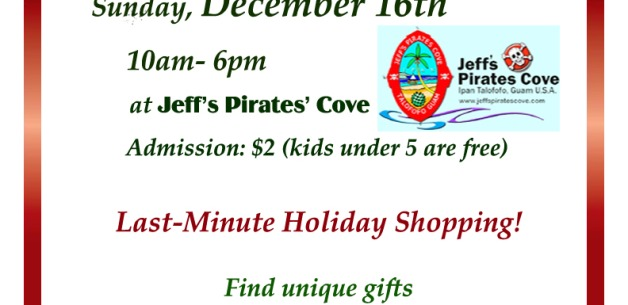 2012 Holiday Craft Fair at Jeff's Pirates' Cove on Guam
