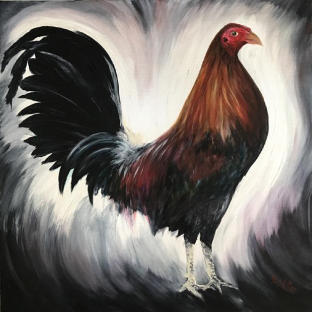 Benny Benidosu Rooster- SOLD