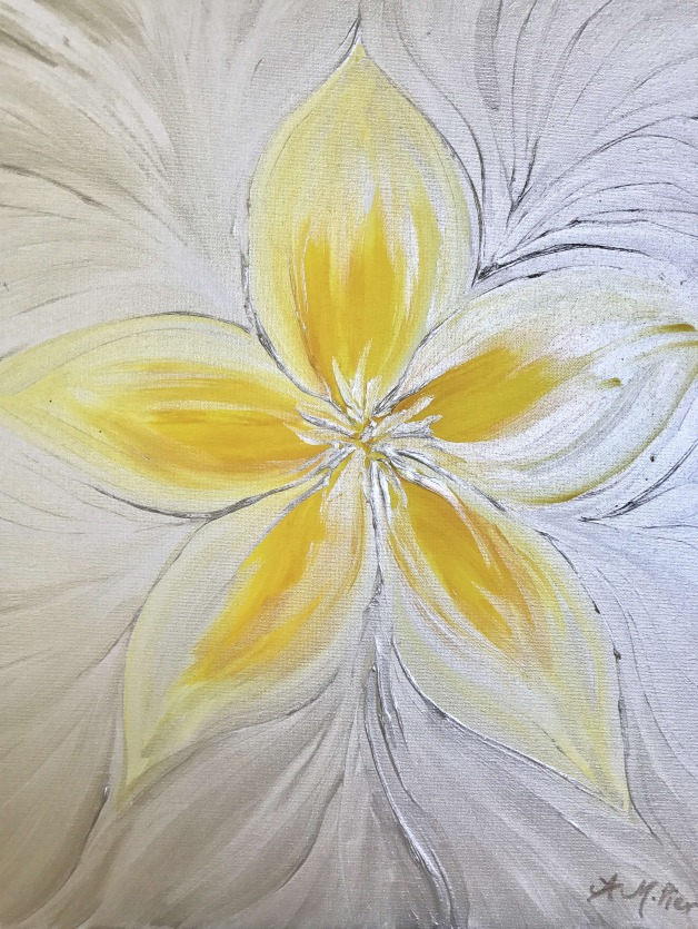 Illuminated Plumeria- SOLD