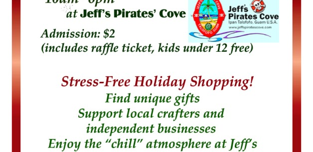 2017 Annual Holiday Craft Fair at Jeff's Pirates Cove