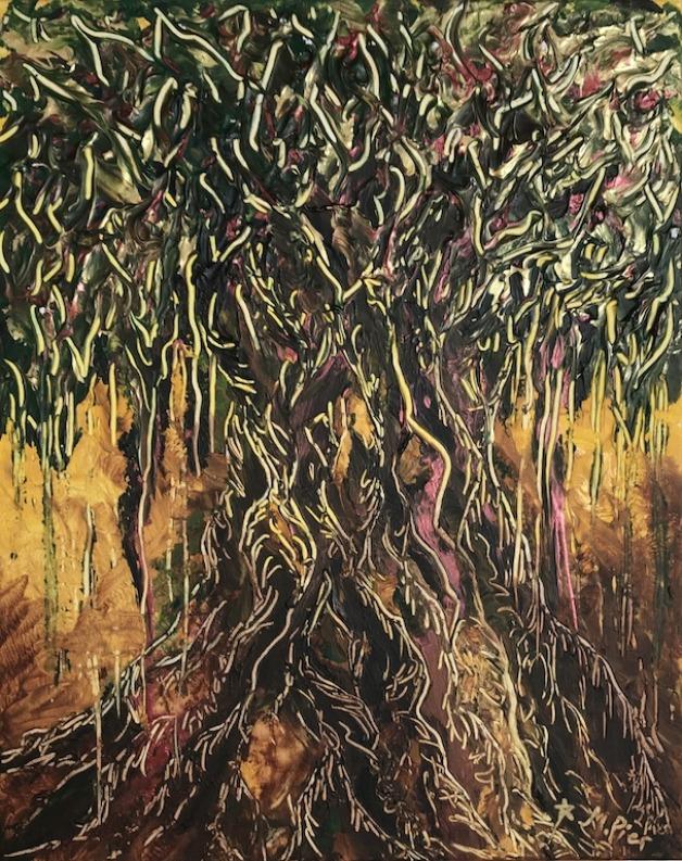 Abstract Spirit Tree