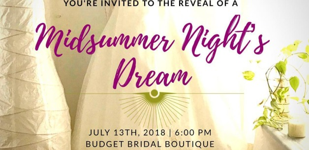 RESCHEDULED: Midsummer Night's Dream Painted Wedding Dress Reveal!