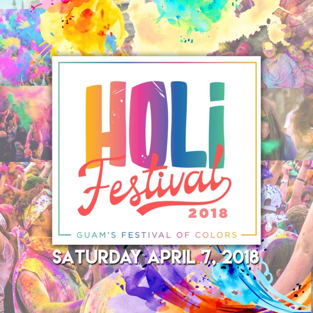 Guam's First HOLI Festival of Colors