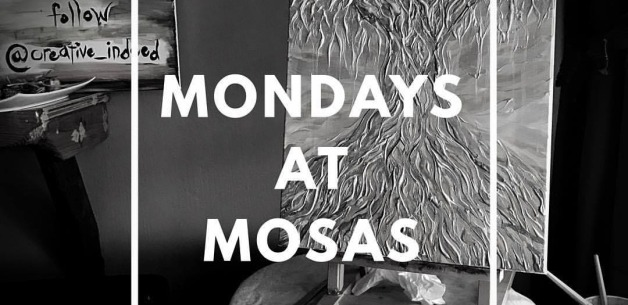 Live art Mondays at Mosa's Joint on Guam!