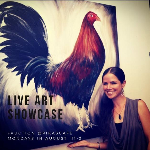 Live Art Showcase Pika's Cafe