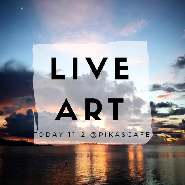 Live Art at Pika's Cafe