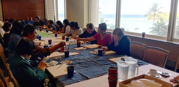 Art of Living Creative Session for EMC Cancer Foundation Retreat