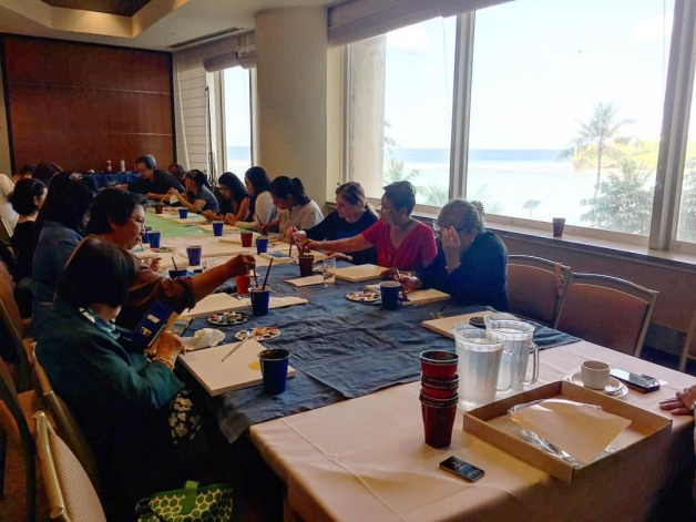 The Art of Living Creative Session for EMC Retreat
