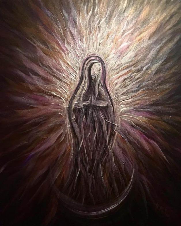 Divine Mother Purple