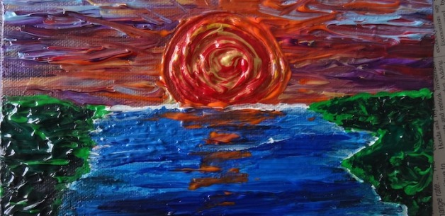Latest Creations: Scenery, Spirals & Moonlit Water