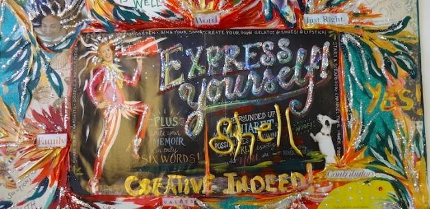Creative Sessions: Dream Boards, Vision Boards, Treasure Maps