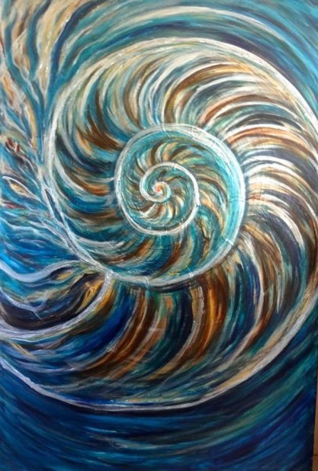Nautilus Painting