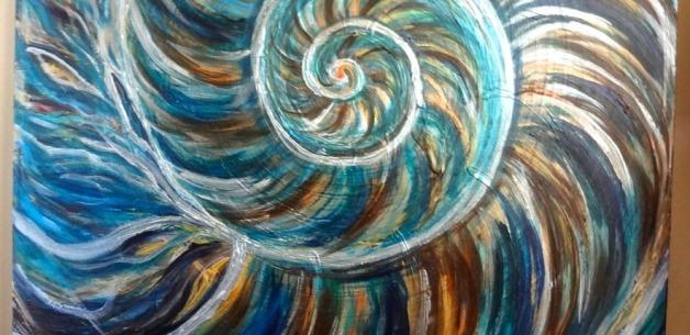 Creative Spotlight: Nautilus Painting in Progress PART 3
