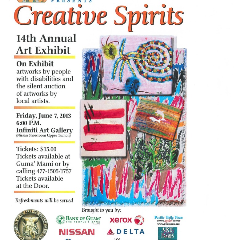 2013 Creative Spirits Exhibit & Auction