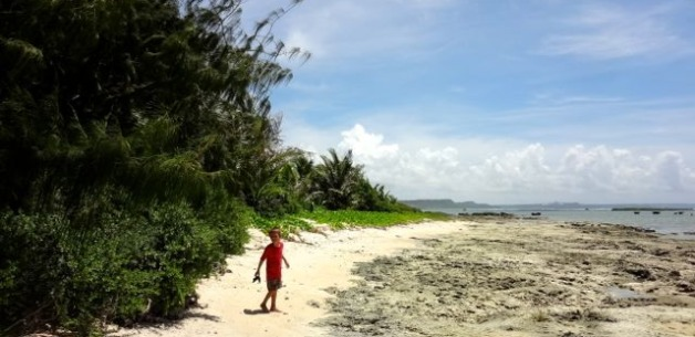 A Walk on the Sand: Exploring Ipan Beach