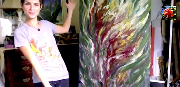 Creative Spotlight: Flourishing: Time Lapsed Painting Video