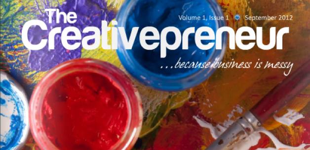 Blue Sun Studio Critiques my Site + The Creativepreneur