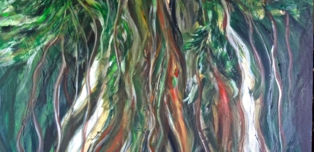 Creative Spotlight: Spirit Tree 2 Time Lapse Painting