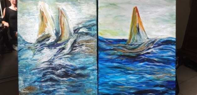Creative Spotlight: Sailing Away Paintings + Video