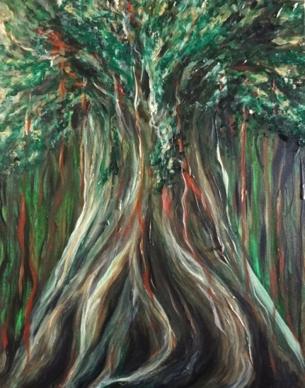 Spirit Tree Smaller Recreation