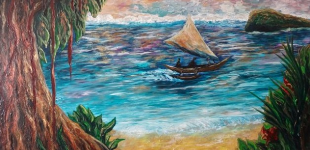 Creative Spotlight: Guam Lagoon Commissioned Painting