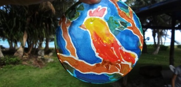 Kids Art Session: Intro to Batik Style Silk Sun Catchers