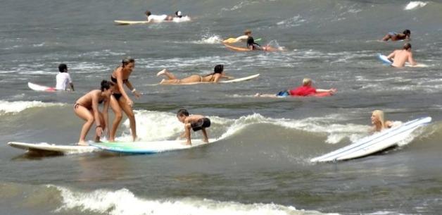 Talofofo Bay Cleanup and Pro Surfer Girls Visit Guam