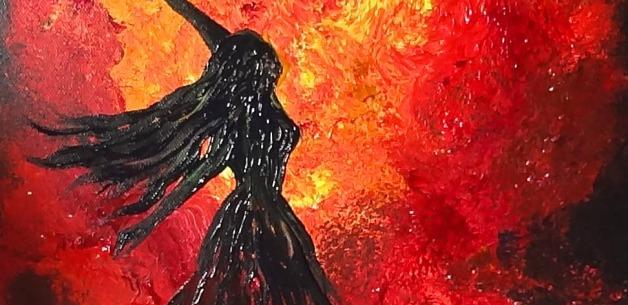 Creative Spotlight ~ Life Force Energy Painting