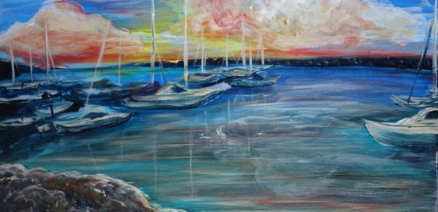 Creative Spotlight: Agat Marina Painting for Video Project