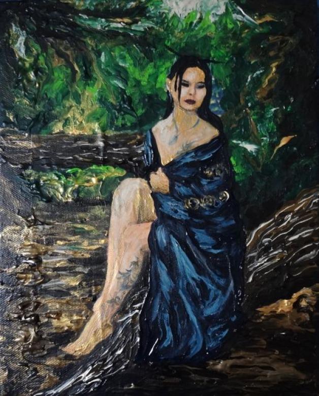 Portrait Painting Experiment